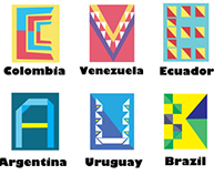 South America Logos