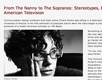 Inside Chico State: Chiara Ferrari and Television Study
