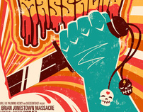 the Brian Jonestown Massacre gigposter