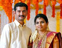 Rajalakshmy + Mahesh Wedding