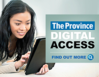 DIGITAL ACCESS - The Province Campaign