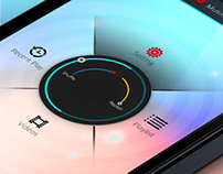 Music Shake App design