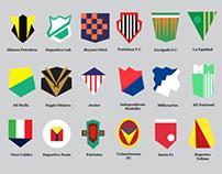 2014 Liga Postobon Logos