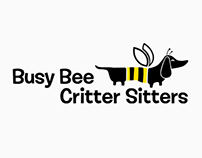 Brand identity, Busy Bee Critter Sitters
