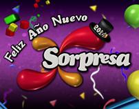 Sorpresa New Year Bumper 2014 (Feliz Año Nuevo)