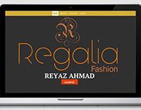 Regalia Fashion Website Design