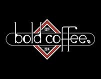Bold Coffee Logo + Bespoke Stamp