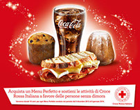 Autogrill and Coca-Cola - Xmas's charity campaign