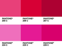 Pantone as pixel
