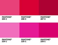 Pantone as pixel