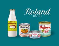 Roland Foods Branding