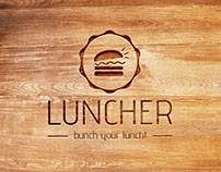 Luncher | logo design