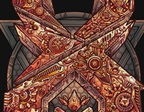 Excision new stage production art teaser project