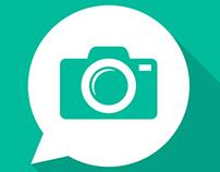 Photo Comment app