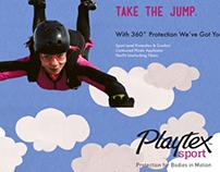 Playtex Sport Tampon REBRAND