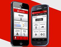Bank Santander Chile App