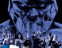Multipage Book: DC Comics Heroes and Vilains v.1