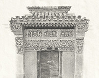 Beijing Door - Stone Carvings