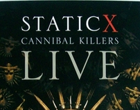 Static X: Cannibal Killers Live (DVD) Production Credit