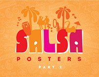 Posters for salsa lessons