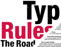 Type Rules the Road