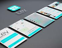 Lev - App - UX/UI