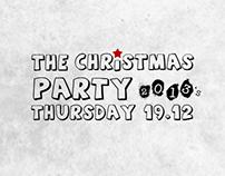 Christmas Party Flyer / Layla Elbeda