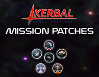 Kerbal Mission Patches