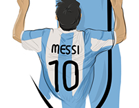 World Cup 2014 Illustration