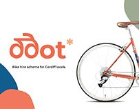Ddot - bike hire scheme branding