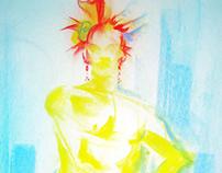 Figure Drawing - Fall Portfolio 3, 2013