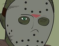 Desenho do Jason