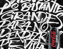 Coca-Cola Zero calligraphy 02