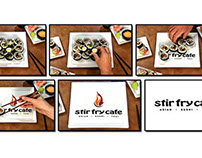 Stir Fry Cafe Commercial Concept