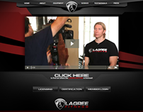Lagree Fitness Website
