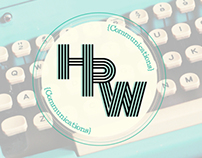 HRW Communications- Logo + Business cards -