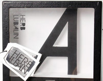 Typographic diorama