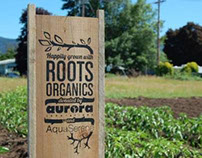 Roots Organics | School Garden Soil Donation Sign