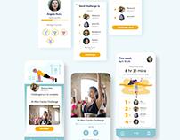 Challenge-A-Friend Fitness App