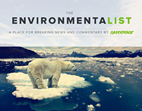 The Environmentalist, by Greenpeace
