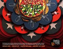 Famosa Pizza. Anúncio Institucional