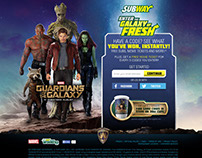 Subway - Digital Promotion Website