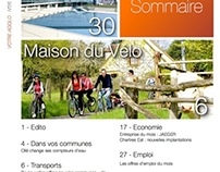 New Design for the City Journal of Chartres Métropole