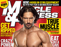 "Actor Joe Manganiello for ""Muscle & Fitness"" Magazine"