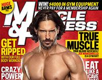 "Actor Joe Manganiello for ""Muscle & Fitness"" Magazine"