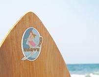 CARVE  | Sticker Design