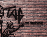 Tag to Survive | Editorial Illustration