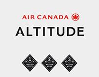 ALTITUDE - AIR CANADA