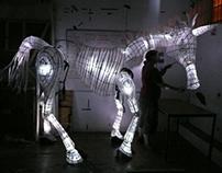 Unicorn Lantern Puppet - Notre Dame School