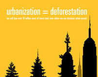 urbanization=deforestation